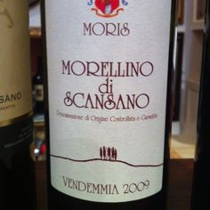 Fav Tuscan wine I found in Florence