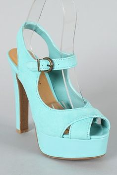 I only like colors that pack a punch. That's not true, I would live in neutrals....as long as I could have these shoes.
