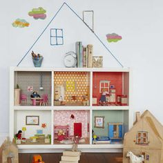 Book Case Doll House DIY