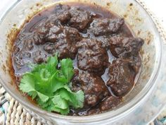 Semur Daging  This is an Indonesian stewed beef dish with a heavy Dutch influence