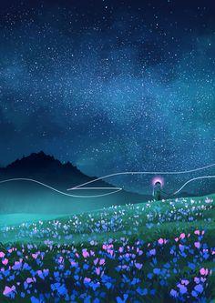 """Hey, Houston"" Illustrations by Jane Bak on Behance"