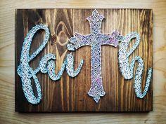 Faith String Art