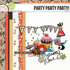 Quality DigiScrap Freebies: Party Party Party! mini kit freebie from Pink Reptile Designs