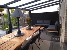 Outdoor Pergola, Outdoor Seating, Outdoor Rooms, Outdoor Living, Outdoor Decor, Extension Veranda, House Extension Design, House Design, Backyard Patio Designs