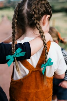 Blessed are the curious for they will know adventure. // Pigtail sets by Free Babes Handmade. The perfect accessory to your free spirit's adventerous kid style. Photo by Simply Suzy Photography