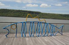 Fish Bike rack in Yonkers, designed by Minneapolis firm Dero. Click image for source, and visit the Slow Ottawa 'Nice Racks' board for more great designs.
