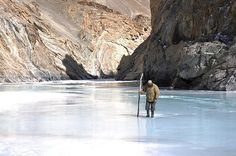 Chadar Trek, Jammu & Kashmir - The 'Frozen River Trek' or 'The Alaska of India'