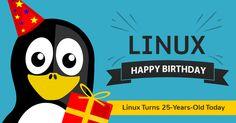 Happy Birthday! LINUX Turns 25 Years Old Today #esflabsltd #securityawareness #cybersecurity