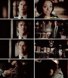 Bonnie and Damon's reunion, in the books Bonnie and Damon have a unique connection, she's the one who understands him and supports him. Beautiful friendship, about time!