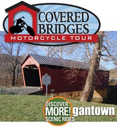 Covered Bridges Motorcycle Tour Discover MORE!gantown Scenic Rides