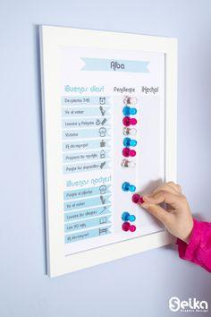 Rutinas niños - Selka Graphic Design
