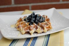 The best Belgian Waffles I have tried