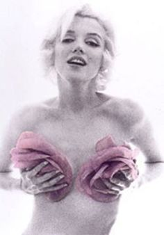 Marilyn Monroe, Bert Stern: From the Last Sitting, (Pink Roses), 1962.