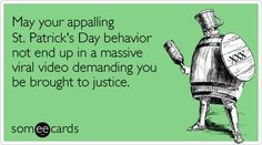 St. Patrick's Day-humor