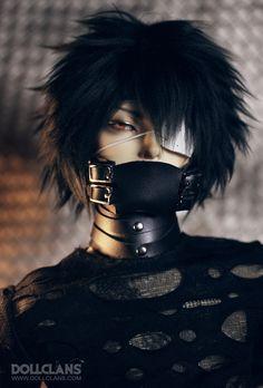 DOLL CLANS ACCESSORY Leather Mask | 総合ドール専門通販サイト - DOLKSTATION(ドルクステーション)
