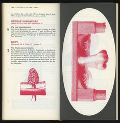 A spread from Guide de la France mystérieuse, published by Tchou, Paris, 1964. Letter E and collage by Roman Cieslewicz. From the essay: The Mysteries of France: A Gothic Guidebook http://designobserver.com/feature/the-mysteries-of-francea-gothic-guidebook/38501/
