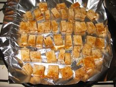Best (and easy!) baked tofu