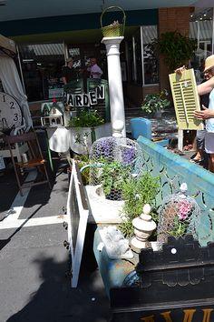 flea market garden ideas | The Fancy Flea Vintage Home  Garden Market