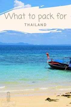 Thailand packing list | What to Pack for Thailand | What not to take to Thailand | Useful Apps for traveling to Thailand | Essential Thailand Packing Guide