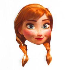 Disney Frozen Anna Cardboard Face Mask