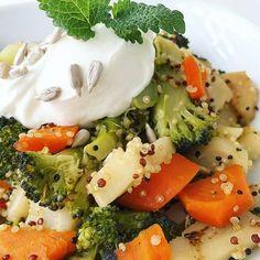 Chutné zdravé recepty pre zdravý životný štýl Caprese Salad, Quinoa, Broccoli, Mashed Potatoes, Food And Drink, Health Fitness, Healthy Eating, Keto, Healthy Recipes