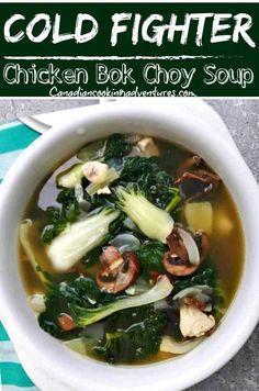 Chinese Soup Recipes, Chicken Soup Recipes, Healthy Soup Recipes, Asian Recipes, Cooking Recipes, Ginger Chicken Soup, Healthy Chicken Soup, Garlic Chicken, Shrimp Recipes