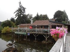 Genoa Bay Cafe, Genoa Bay, Cowichan Valley, Vancouver island