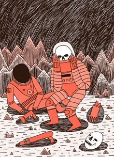 Death in Space by Jack Teagle