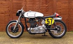 Norton Manx 500 by Works Racing
