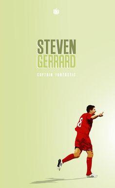 ☼ #LFC #artwork Steven Gerrard
