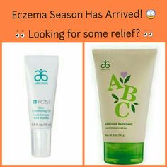Arbonne's ABC diaper rash cream and FC5 body conditioning oil both offer relief from the pain and irritation of eczema. Safe and beneficial products for all. For more info visit my website: http://ChryssaSpiric.arbonne.com/