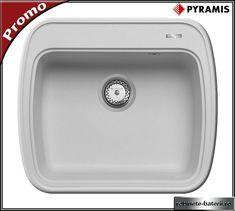 Chiuveta bucatarie Aldora 575 mm din compozit Sink, Container, Home Decor, Sink Tops, Vessel Sink, Decoration Home, Room Decor, Sinks, Interior Design