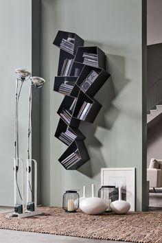 Libreria sospesa in metallo W SU LINE by Ronda Design design Diego Collareda