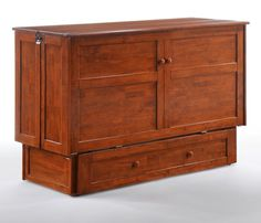 Night & Day Furniture: Clover Murphy Cabinet Bed - Queen only