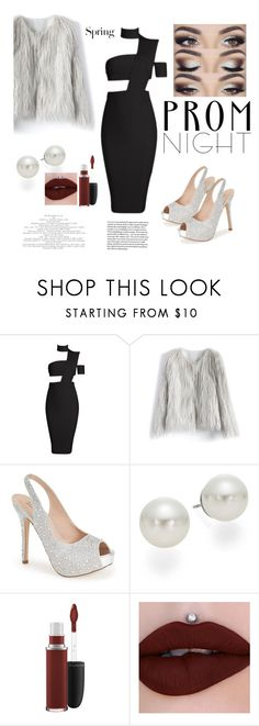"""Untitled #74"" by antilope1 ❤ liked on Polyvore featuring Chicwish, Lauren Lorraine, AK Anne Klein, MAC Cosmetics and H&M"
