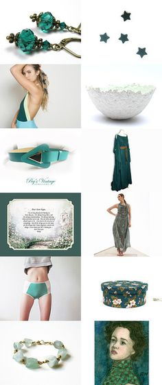 Summer finds ♥ by Ilona Rudolph on Etsy--Pinned with TreasuryPin.com