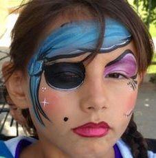 Maquillage femme pirate Halloween