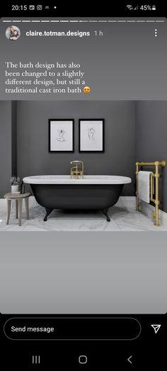 Clawfoot Bathtub, Bathroom, Washroom, Full Bath, Bath, Bathrooms