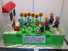 Plants vs. Zombies cake!