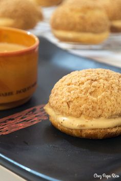 Chou brest / Chez Papa Rico Brest, Beignets, Hamburger, Cookies, Cake, Desserts, Food, Interesting Recipes, Good Mood