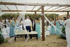 boda romantica playa