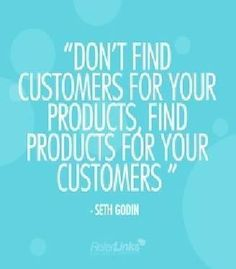 Find products for your customers.