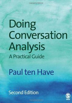 Doing conversation analysis / Paul ten Have