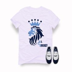 62010be0d009 Air Jordan 11 (Midnight Navy) White T (King Lion