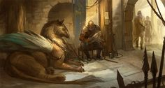 War Veteran by * sandara. I really like that old warrior; his character design has a distinct presence in the picture...