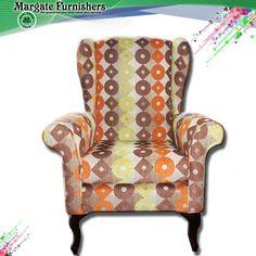 Retro High Back Chair - Margate Furnishers
