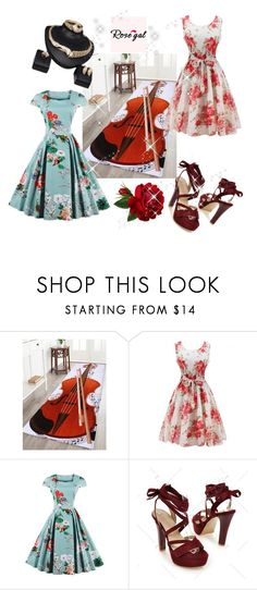 """Rosegal-fashion"" by alma-ja ❤ liked on Polyvore featuring vintage"