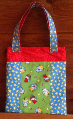 Book Bag e-pattern as seen in Kindred Stitches Magazine now available via Stitching Cow website