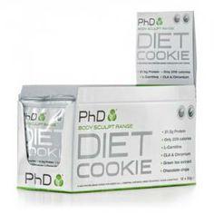 PhD Nutrition Diet Cookies (12x50g)