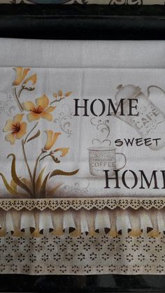 Stencil Opa, Stencils, Sweet Home, Dish Towels, Balcony Decoration, Avocado, Towel, Stencil, Needlepoint